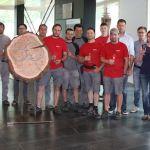 """Team """"RhOME for denCity"""" der Universität RomaTre aus Rom."""