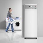 Ideal für die Nutzung selbst erzeugten Solarstroms geeignet: die Warmwasser-Wärmepumpe WWK 300 PV von Stiebel Eltron.